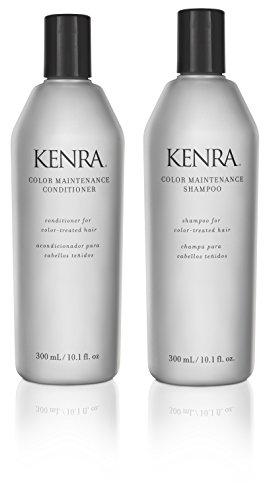 Kenra Color Maintenance 10.1 oz. Shampoo + 10.1 oz. Conditioner (Combo Deal) by Kenra BEAUTY (English Manual)