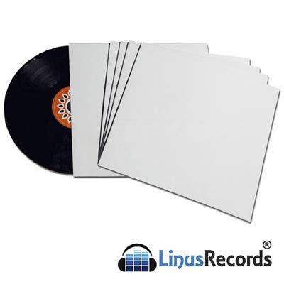 25Decken Pappe weiß für Festplatten LP und 12Zoll... -