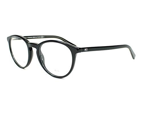 Tommy Hilfiger Unisex-Erwachsene TH 1451 A5X 50 Sonnenbrille, Schwarz (Black Grey),