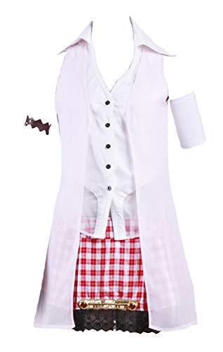 Chong Seng CHIUS Cosplay Costume Outfit for Serah Farron Version 1 (Serah Kostüm Xiii 2)
