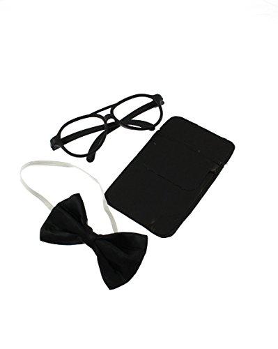 Alter Egos Kostüm - Zac's Alter Ego®® - Kostüm-Set für Nerd-Verkleidung