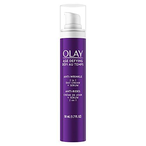 Olay Age Defying 2-In-1 Anti-Wrinkle Day Cream + Serum 1.7 Fl Oz