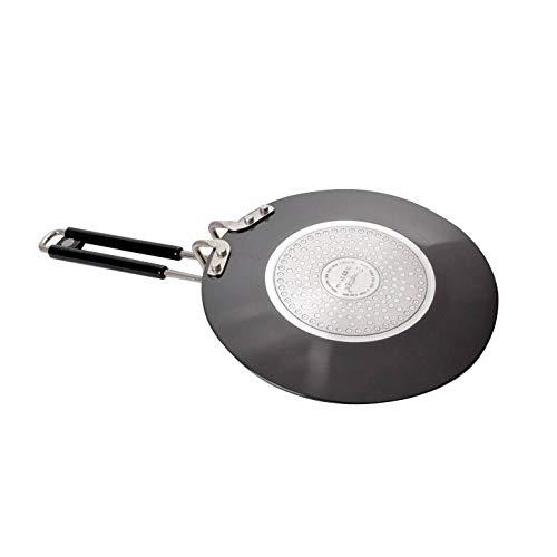 Prestige Hard Anodized Aluminum Chapati Tawa (245 mm, Black)