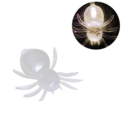 skgardeniamy 10/20/40 LED Skelett Hand Spider Lampe Halloween Party Dekor Fee String Lights Warm Light Spider ()