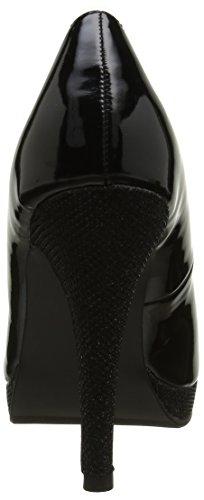 Initiale - Ovale, Scarpe col tacco Donna Nero (Noir (Vernis Noir))