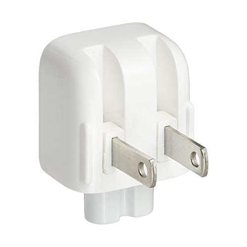 NaiCasy Mac AC-Stecker US Duckhead Adapter Charger Cord American Standard Ente Kopf MacBook Mac iBook/iPhone/iPod-Wechselstrom-Adapter-Weiß Brick, Computerzubehör - Macbook Wechselstrom-adapter