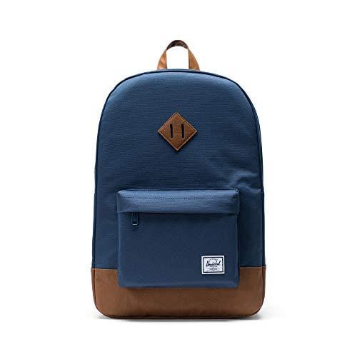 Nuovi Prodotti 55744 5e479 Herschel Heritage Backpack Mochila Tipo Casual, 46 cm, 21.5 Liters, Azul  (Navy/Tan)