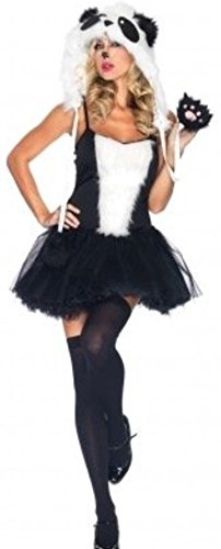 Halloween Cartoon Kostüme (harrowandsmith British Fashion Store Damen Mode Cartoon Kostüm Halloween Sexy Beauty Panda Cosplay Uniform, UK)
