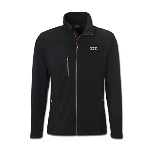 Audi Herren Fleecejacke (M) Design-fleece-jacke