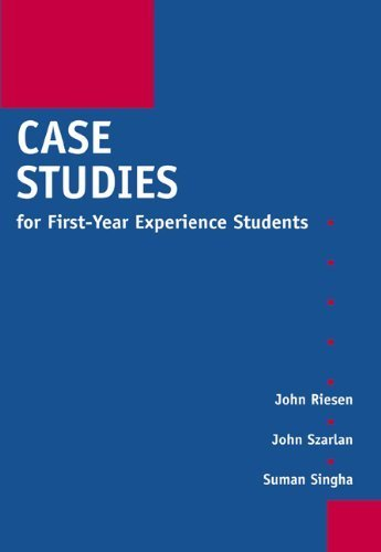case-studies-for-first-year-experience-students-by-john-riesen-2002-09-27