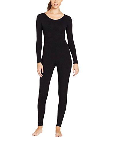 Sport Kostüm Gruppe - Anyu Unisex Ganzkörperanzug Erwachsene Halloween Kostüme Schwarz M