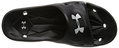 Under Armour Ua M Locker Iii Sl, Chaussures de Plage et Piscine Homme Bleu (Black 001)