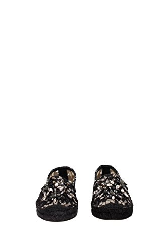Espadrilles Dolce&Gabbana Damen (CE0002AL198) Schwarz