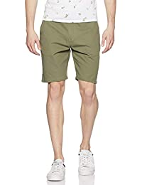 Amazon Brand - Symbol Men's Regular Cotton Casual Shorts