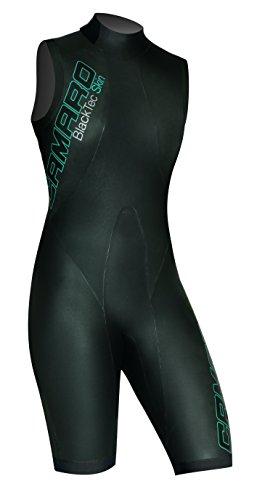 Camaro Damen Schwimmshorty Blacktec Skin Speed, Schwarz, 42, 951095-99