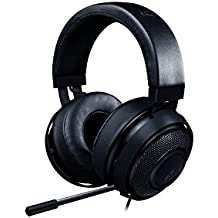 Razer Kraken Pro V2 - Auriculares para juegos y música para PC, MAC, XBOX y PS4 (diafragmas de audio de 50 mm, estructura de aluminio y comodidad sin fatiga), color negro