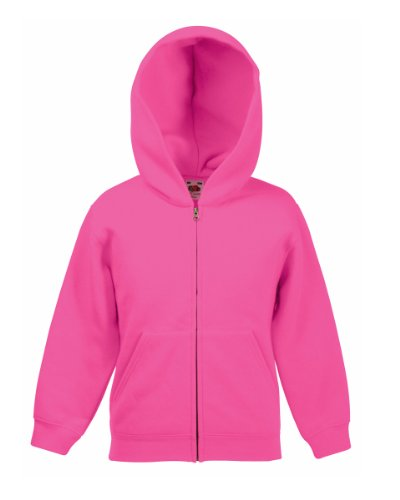 Fruit of the Loom - Sweat à capuche - Femme grand Rose - Fuchsia
