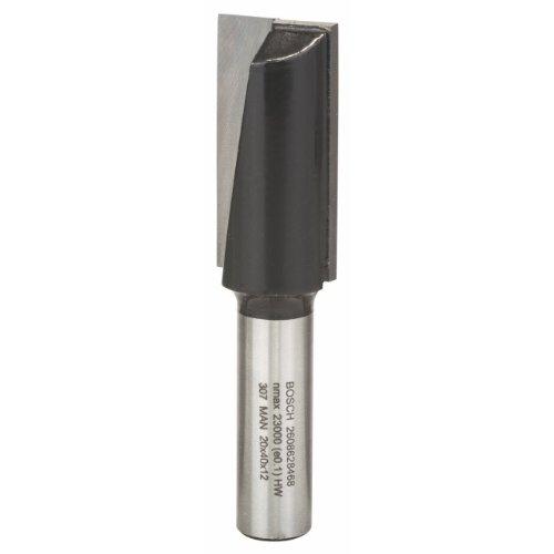 Bosch Professional Zubehör 2608628468 Nutfräser 12 mm, D1 20 mm, L 40 mm, G 81 mm