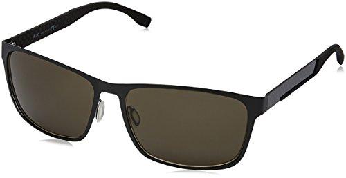 Hugo boss 0652/f/s nr occhiali da sole, mttbk carbon, 62 unisex-adulto