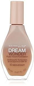 MAYBELLINE Dream Wonder Fluid Touch Foundation - Medium Buff 80