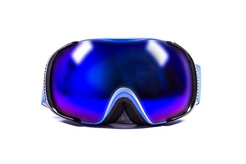 Ocean Sunglasses Lost Sonnenbrille Schnee Polarisiert Unisex Erwachsene, Blue Frame/Revo Blue Lens