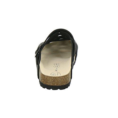 In Echtes Clogs 3093 pantoffeln Schwarz Und schuhe Für Germany Herren Zu Hause Modische Unisex Hochwertiges Hausschuhe Made Bequeme Arbeits Leder Damen Praktische Schlappen Afs 1F6SvWnn