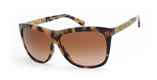 Michael Kors Damen Sonnenbrille MK6010 Benidorm, Gr. One size (Herstellergröße: 59), mehrfarbig (Vintage Tortoise 301313)