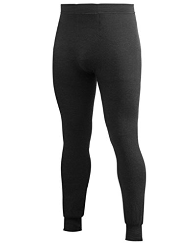 Woolpower 400 Long Johns Pant Men - Thermounterwäsche ohne Eingriff schwarz