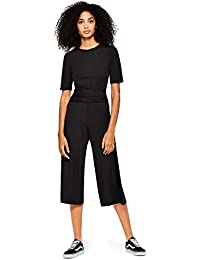 find. Damen Jumpsuit Rib Cropped Jumpsuit_18AMA040