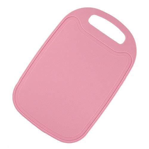 ZqiroLt Reparierwerkzeug, Non-Slip Mini K¨¹che Fleisch Obst Gem¨¹seschnittvorschuss Food Chopping Block-Deep Pink