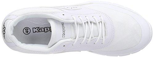 Kappa MILLA M Unisex-Erwachsene Sneakers Weiß (1010 white)