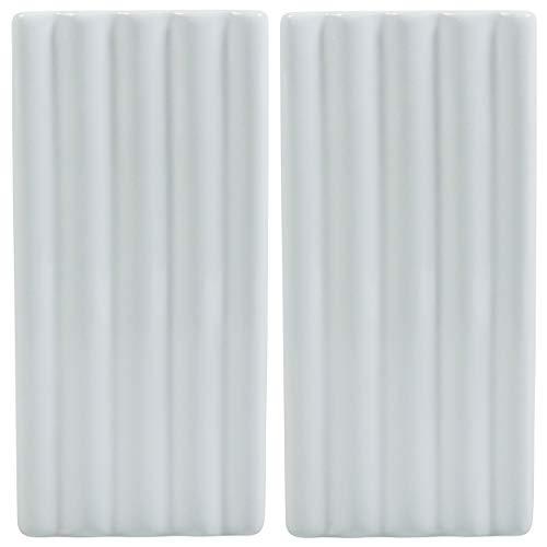 Viva-Haushaltswaren Wasser Verdunster Luftbefeuchter für Heizung / Flachheizkörper 2er Set (Relief Rillen)