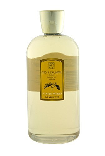 Geo F Trumper Sandalwood Hair & Body Wash (500ml) -
