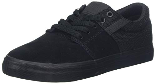 Supra Unisex-Erwachsene Stacks Vulc II Low-Top, Schwarz Black BBB, 43 EU