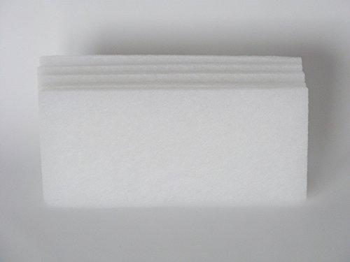 20x G3 Filter (Zuluft- & Abluftfilter) alternatives Filtermatten - Set G3 passend für STIEBEL ELTRON LWZ 160 / LWZ 161 / LWZ 170 (Plus) / LWZ 270 (Plus) Ersatzfilter