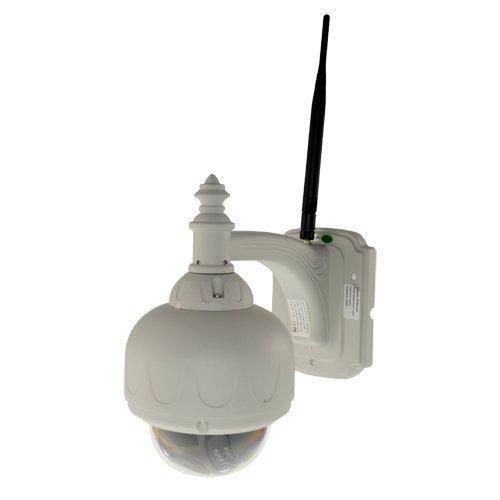 Wansview IPX-901-HWO - Cámara IP (Apta para Exterior), de fácil instalación  (Plug & Play), con Movimiento Remoto y Compatible con NVR ONVIF