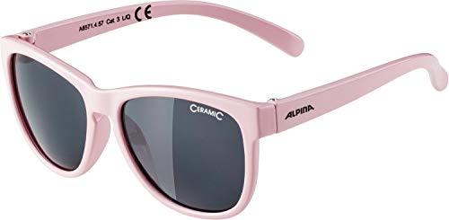 Alpina Mädchen LUZY Sonnenbrille, pink, One Size