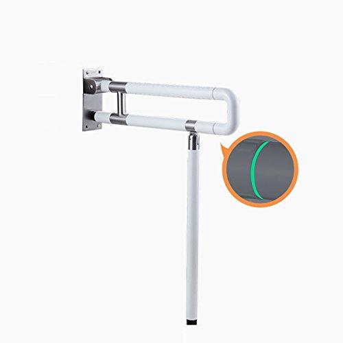 BSNOWF Handläufe Barrierefrei Faltensicherheitshandläufe Alter Mann Behinderte Badezimmer WC Geländer ( größe : 600mm )