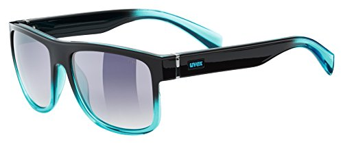 Uvex Lgl 21 Sonnenbrille, black turquoise, One size