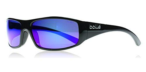 Bollé Weaver Lunettes de soleil Homme Weaver Shiny Black Polarized Blue Violet oleo AF