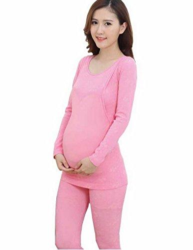 Evedaily - Coordinato abbigliamento termico - Donna Rosa