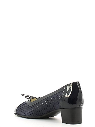 GRACE SHOES E6301 Mocassino Donna Nero