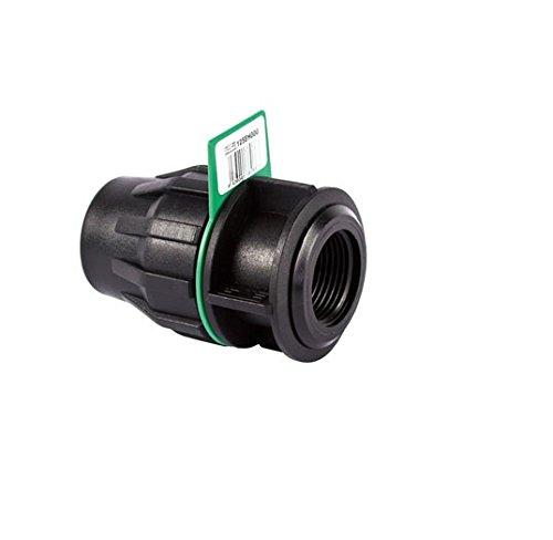 SYR Brico Fitting – Liaison Filetage Femelle, 12 X 8 X 9 Cm, Couleur Noir