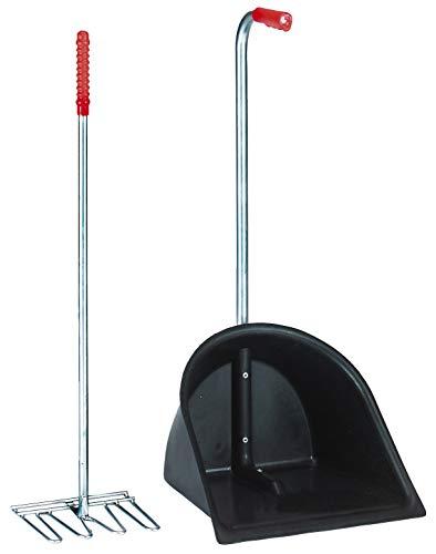 Kerbl Valet d'Écurie pour Cheval Noir 90 cm