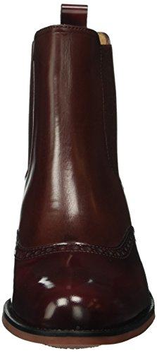 Lottusse S8817, Bottines non doublées femme Rouge - Rot (Eaton Burdeos)