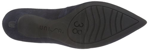 Unisa Damen Kun_f16_Ks Pumps Blau (Baltic)
