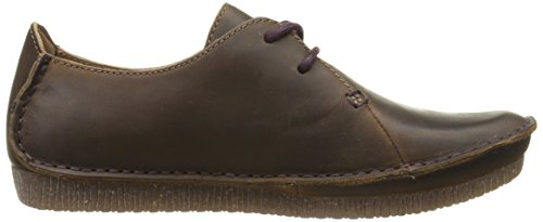 Clarks Janey Mae Flat Beeswax