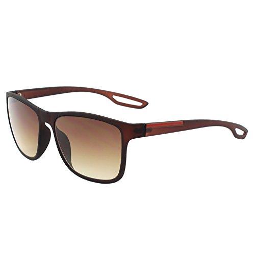 GQUEEN Retro Wayfarer Sonnenbrille mit UV400 Schutz MZE4
