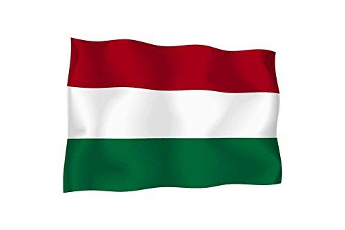 Außen, Vinyl Aufkleber, Motiv Auto, Motorrad, Ungarn Ungarisch (Motiv Land)