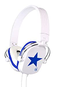 URBANZ - STARZ-BLW - HEADPHONE STARZ BLUE/WHITE